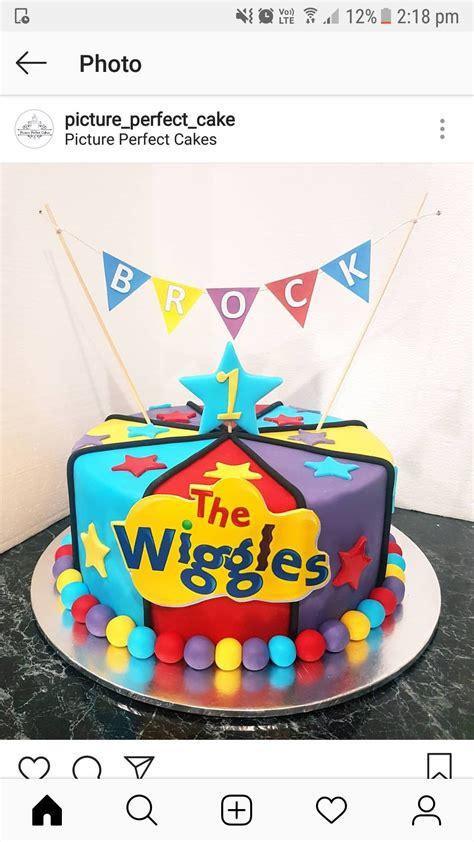 pin   bedford  leo  bday cake   wiggles