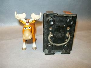 Wadsworth 60 Amp Main Vintage Fuse Pull Out Lid
