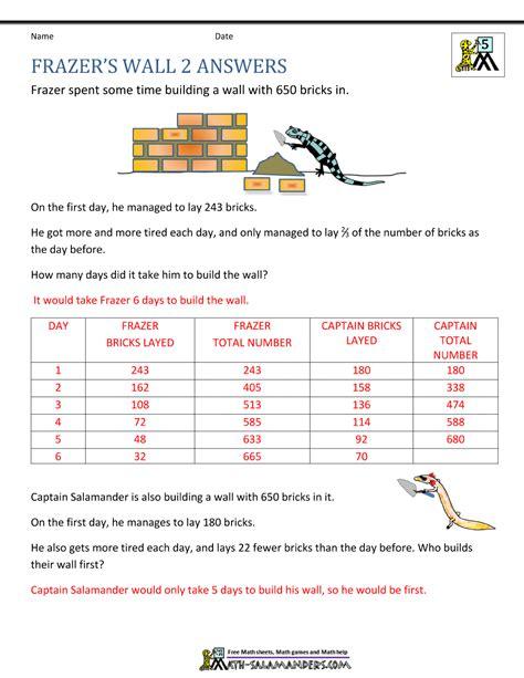 mountain math second grade mountain math worksheet third