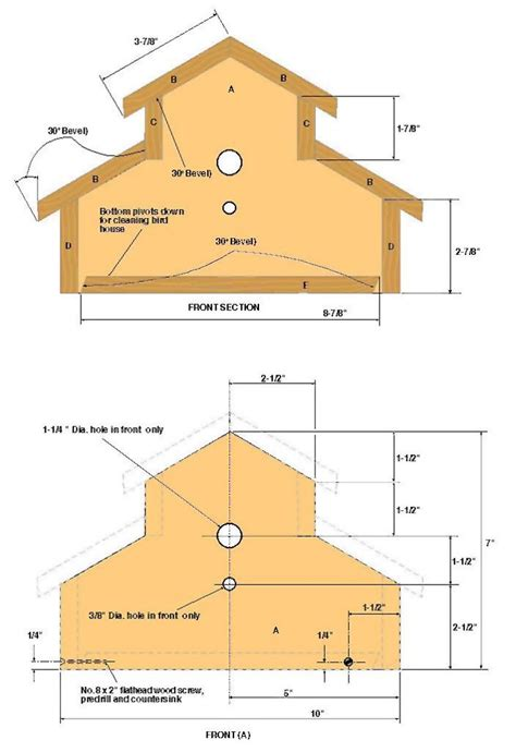 woodwork woodworking plans birdhouse  plans