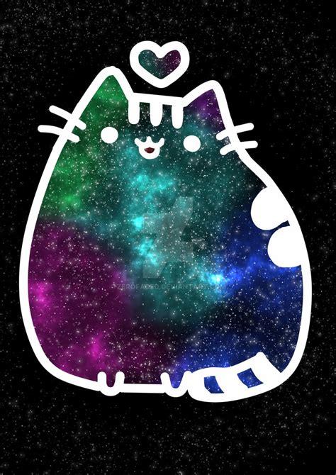 pusheen galaxy  zerofaded  deviantart