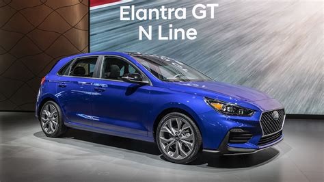 Research the hyundai elantra and learn about its generations, redesigns and notable features from each individual model year. Hyundai debuts Elantra GT N Line   Autoblog