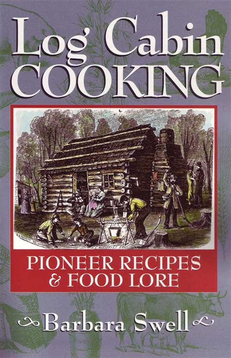 log cabin cooking book damaged  native ground