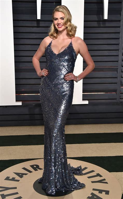 vanity fair oscar kate upton from 2017 vanity fair oscars after e news