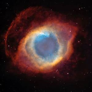 """Hubble picture--the eye of God 