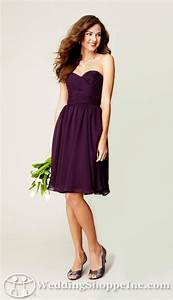 chiffon bridesmaid dresses sydney in eggplant happily With eggplant dresses for weddings