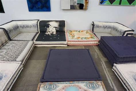 "Roche Bobois ""mah Jong"" Sectional Sofa By Jean Paul"