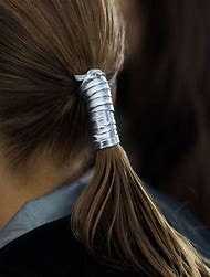 Leather Ponytail Hair Accessories