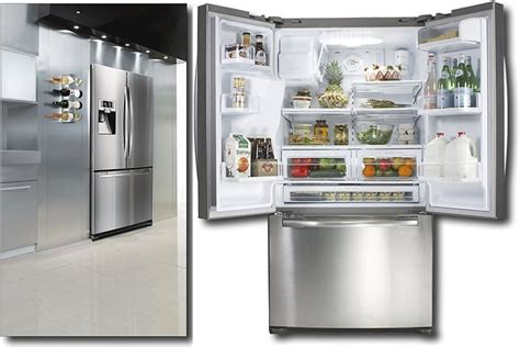 Best Buy Samsung Fridge 2017 Design Ideas Counter French Door Refrigerator With Drawer Patio Doors Doggie Replace Sliding Glass 30 Inch Wide Refrigerators Contemporary Front Ball Catch Internal Uk