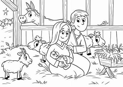 Coloring Bible Sheets Pages Story App Children