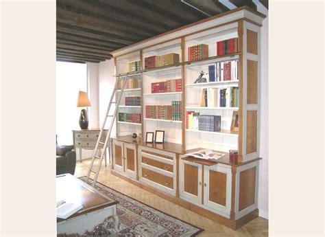 bureau style directoire bibliothèque sur mesure meuble contemporain fabricant