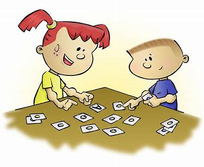 Clipart Reading Games Activities Playing Memory Letter