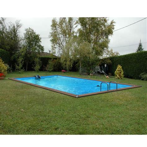 piscine bois alu waterclip 620x310x147 optimum achat vente kit piscine piscine 6 20 x 3 10 x