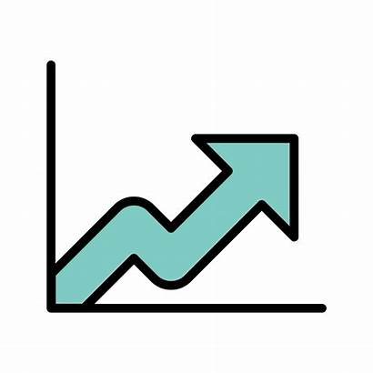 Growth Icon Vector Analysis Graph Icons Analytics