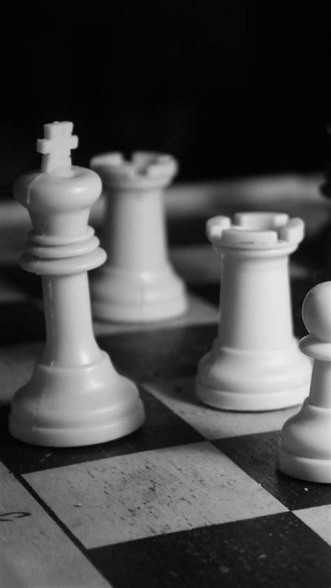 wallpaperwiki black  white chess game iphone