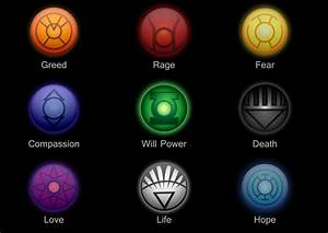 Lantern corps logos by YCanwood on DeviantArt