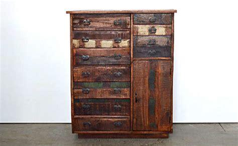 offerte cassettiere mobili legno riciclato arredo ecocreativo mobili riciclati