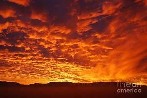 Fiery Sky Photograph by Susan Hernandez