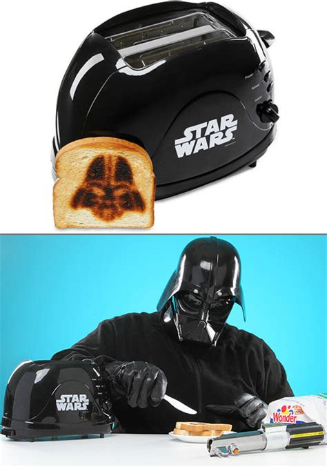 darth toaster working wars toaster imprints darth vader sith lord