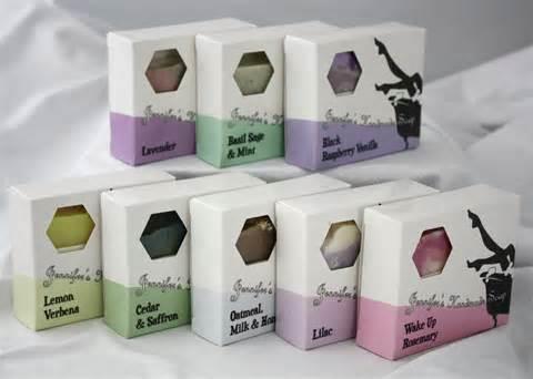 Handmade Soap Packaging Box
