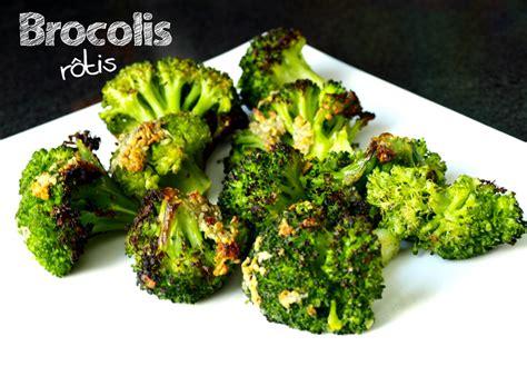 cuisiner brocoli brocolis rôtis à l ail et au parmesan cookismo