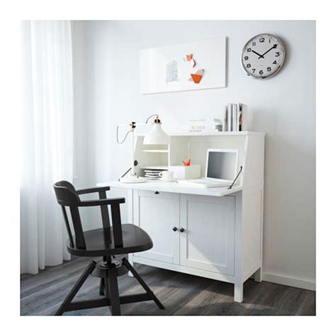 bureau hemnes hemnes bureau white stain 89x108 cm ikea