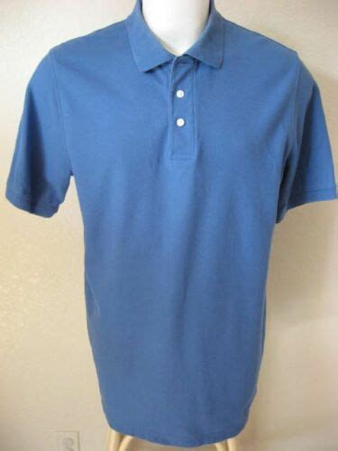 Mens Polo Shirt Lt L Tall Croft Barrow Performance Classic 3 Button Casual Usd 18 97 End Date