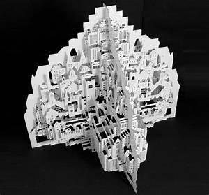 architecture paper sculptures With ingrid siliakus templates