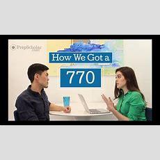 How We Got A 770 Gmat Score Ask 2 Top Scorers Youtube