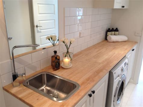 kitchen sink benchtop this one is my favourite laundry inspired tile bench 2582