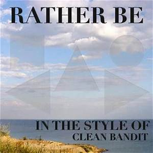 Rather Be free piano sheet music by Clean Bandit at ...