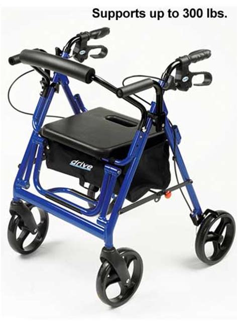 2 in 1 rollator and transport chair drleonards