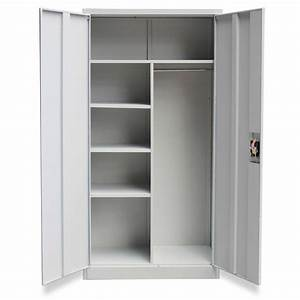 Türen Kaufen Günstig : metallschrank schlie fachschrank putzmittelschrank 2 t ren grau g nstig kaufen ~ Markanthonyermac.com Haus und Dekorationen