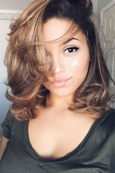 how to blow dry curly hair straight 3b 3c achieve perfect