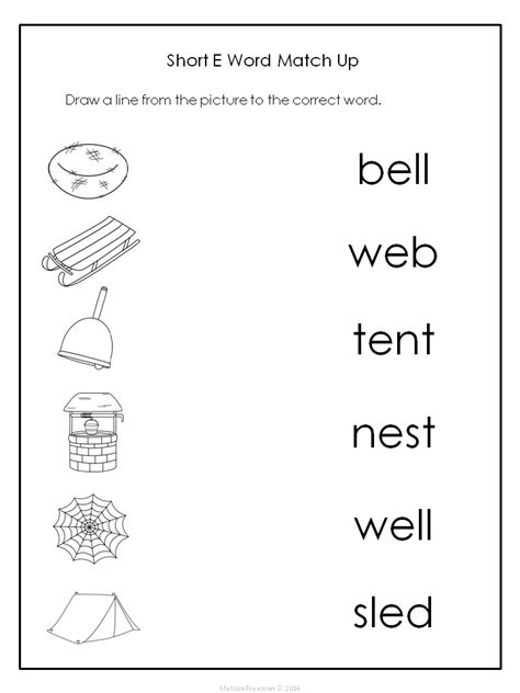 free this is a reader that focuses words with the short e sound it comes with 2 short e