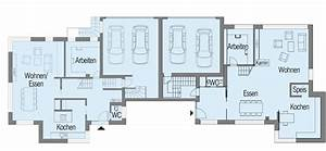 Modernes Haus Grundriss : modernes fertighaus von baufritz haus nilles ~ Bigdaddyawards.com Haus und Dekorationen