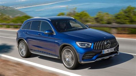 It has touch pads for easy control of all systems. Kicking it with the latest 2020 Mercedes-AMG GLC 43 SUV! | naijacarnews.com