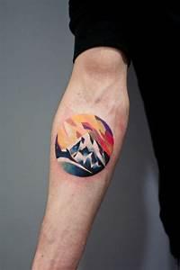 Tatouage Homme Original : 1001 dessins originaux de tatouage montagne ~ Melissatoandfro.com Idées de Décoration