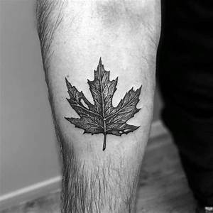 60 Leaf Tattoo Designs For Men - The Delicate Stages Of Life