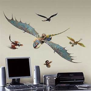 How to Train Your Dragon 2 Astrid and Stormfly Wall Decals ...