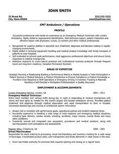 Firefighter Resume Examples   Emergency Services Sample Resumes   LiveCareer   Misc.