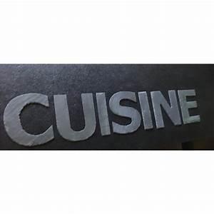 Lettre Decorative Cuisine : lettre cuisine deco ~ Teatrodelosmanantiales.com Idées de Décoration