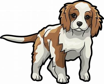 Cartoon Cavalier Spaniel Charles King Clipart Transparent