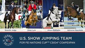 US Equestrian Names Show Jumping Team for FEI Nations Cup ...