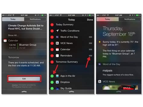 how to use widgets on ios 8 cnet