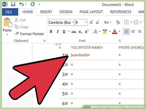 add template to word 4 easy ways to add templates in microsoft word wikihow