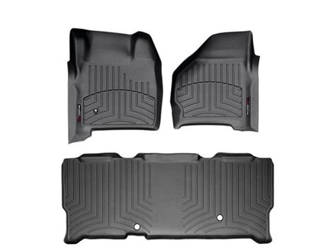 Weathertech Floor Mats F250 by 1999 2007 F250 F350 Duty Cab Weathertech