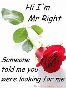 funny-quotes-about-love-mr-right | YourBirthdayQuotes.com