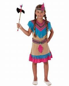 Indianer Kostüm Mädchen : m dchen kost m indianer braun blau orange magicoo ~ Frokenaadalensverden.com Haus und Dekorationen
