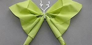 Pliage De Serviette Papillon : pliage de serviette en papillon tutoriels et explications ~ Melissatoandfro.com Idées de Décoration